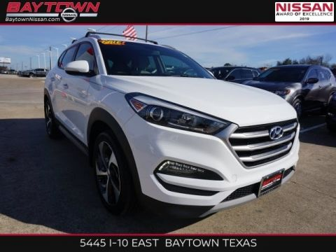 Pre-Owned 2017 Hyundai Tucson Limited AWD 4D Sport Utility